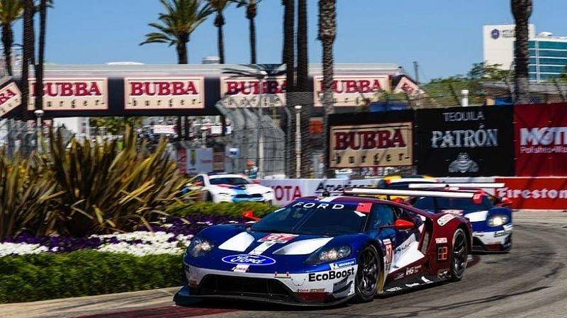 Ford Chip Ganassi Racing mit dem Ford GT startklar für den IMSA-Sprint in Long Beach